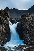 Waterfall at Fairy Pools, Coire na Creiche, Glenbrittle, Isle of Skye, Scotland