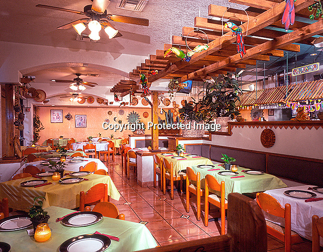 The seating area at a mexican restaurant g timothy mcafee