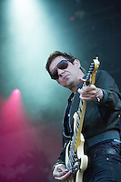 CARHAIX-PLOUGUER, FRANCE - JULY 14: The Kills perform at the Festival des Vieilles Charrues, July 14, 2016 in Carhaix-Plouguer, France. Credit: Kristina Afanasyeva/Capital Pictures /MediaPunch ***NORTH AND SOUTH AMERICAS ONLY***