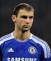 FUSSBALL   CHAMPIONS LEAGUE   SAISON 2011/2012   GRUPPENPHASE Bayer 04 Leverkusen - FC Chelsea    23.11.2011 Branislav IVANOVIC (Chelsea)