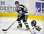8 February 2009: University of New Hampshire Wildcats' forward Sam Faber, a Senior from Mt. Sinai, NY, takes a shot against the University of Vermont Catamounts in the second game of a weekend series at Gutterson Fieldhouse in Burlington, Vermont. The Wildcats defeated the lady Catamounts 6-2 to sweep the 2-game series. Mandatory Photo Credit: Ed Wolfstein Photo
