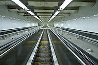 New York City, NY, Subway Station 181 Street, escalator