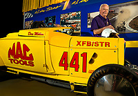 Photography of the North Carolina Auto Racing Hall of Fame in Mooresville, North Carolina.<br /> <br /> NASCAR Industry Legend Don Miller. Racer Miller, with a career as a drag racer and NASCAR. <br /> <br /> Charlotte Photographer - PatrickShcneiderPhoto.com