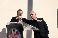 William Friedkin & William Petersen  at  the Hollywood Walk of Fame Star Ceremony for WIlliam Petersen in front of Musso's & Franks Resturant in Los Angeles, CA on .February 3, 2009.©2008 Kathy Hutchins / Hutchins Photo..