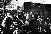 Ramgarh 26.02.2010 India. Leprosy colony. This is the place where works sister Stefania from Poland. Weeding..Photo Maciej Jeziorek/Napo Images..Ramgarh 26.02.2010 Indie .Kolonia dla tredowatych, w ktorej pracuje pochodzaca z Polski siostra Stefania. Wesele w kolonii.fot. Maciej Jeziorek/Napo Images