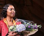 Heather Headley bows in 'The Color Purple'