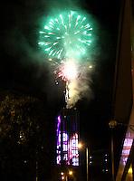 Celebración del año nuevo 2016 Torre  Colpatria