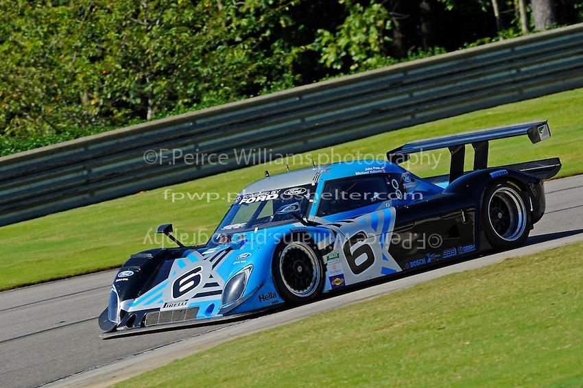 17-19  July, 2009, Birmingham, Alabama USA.#6 Michael Shank Racing Ford/Riley of John Pew & Michael Valiante.©2009 F.Peirce Williams, USA.