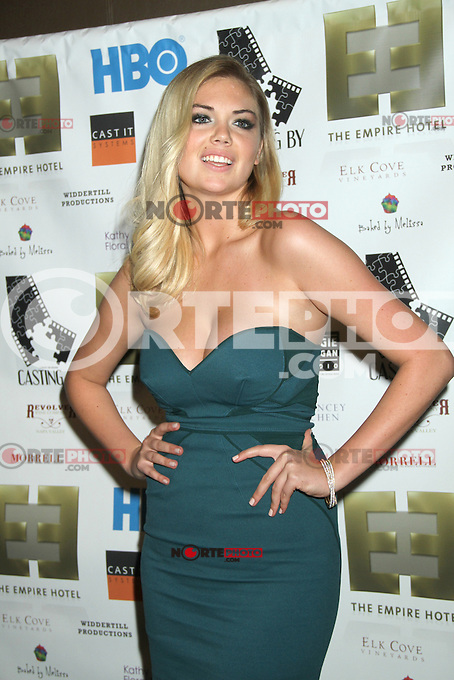 NEW YORK, NY - OCTOBER 12: Kate Upton at the premiere party for HBO Documentary Films ?Casting By,? at the Empire Hotel in New York City. October 12, 2012. © RW/MediaPunch Inc. /NortePhotoAgency