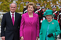 The Queen visits Aras an Uachtarain, Her Majesty Queen Elizabeth II visited Ireland.