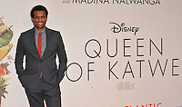 Tendo Nagenda at the &quot;Queen of Katwe&quot; 60th BFI London Film Festival Virgin Atlantic gala screening, Odeon Leicester Square cinema, Leicester Square, London, England, UK, on Sunday 09 October 2016.<br /> CAP/CAN<br /> &copy;CAN/Capital Pictures /MediaPunch ***NORTH AND SOUTH AMERICAS ONLY***