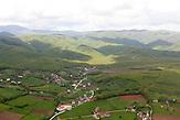 Das Kosovo aus der Luft / Aerial picture of the Kosovo