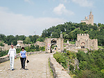 Western gate, Patriarchate church on top of the hill of the fortress of Tsarevts, Veliko Tarnovo, Bulgaria