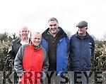 NCW Coursing 2<br /> Lto R  Joe McCarthy Listowel , Dan Brassill Abbeydorney, Micheal Murphy Lixnaw and Pat McCarthy Listowel