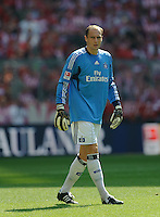 Fussball Bundesliga Saison 2011/2012 3. Spieltag FC Bayern Muenchen - Hamburger SV Jaroslav DROBNY (HSV).