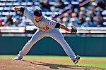 4 March 2009: New York Mets' pitcher Darren O'Day on the mound during a Spring Training game against the Washington Nationals at Space Coast Stadium in Viera, Florida. The Nationals rallied to defeat the Mets 6-4 . Mandatory Photo Credit: Ed Wolfstein Photo