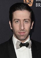 BEVERLY HILLS, CA - OCTOBER 28:  Simon Helberg at the 2016 BAFTA Los Angeles Britannia Awards at the Beverly Hilton Hotel on October 28, 2016 in Beverly Hills, California. Credit: MediaPunch