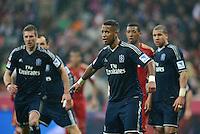 FUSSBALL   1. BUNDESLIGA  SAISON 2012/2013   27. Spieltag   FC Bayern Muenchen - Hamburger SV    30.03.2013 Dennis Aogo (Hamburger SV) nachdenklich