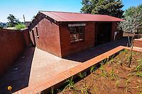 Nelson Mandela's house in Orlando, Soweto. Johannesburg, South Africa.