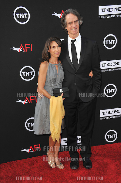 Jay Roach &amp; Susannah Hoffs at the 41st AFI Life Achievement Award honoring Mel Brooks at the Dolby Theatre, Hollywood.<br /> June 6, 2013  Los Angeles, CA<br /> Picture: Paul Smith / Featureflash