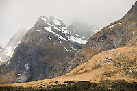 Ailsa Mountains, Fiordland National Park, UNESCO World Heritage Area, Southland, New Zealand, NZ