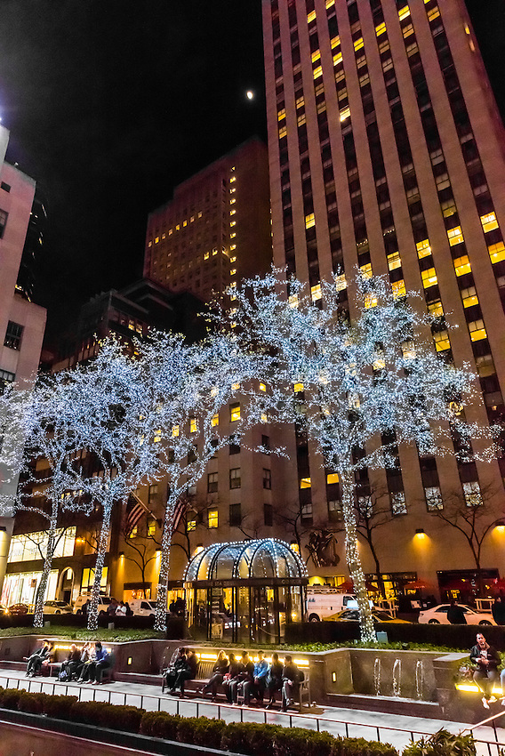 Rockefeller Center, New York, New York USA.