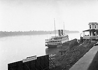 Ontario Canada:  Ferry to Queenston Ontario from Lewiston New York  - 1914