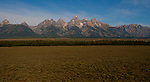 Jim Urquhart/Straylighteffect.com The Tetons of Grand Teton National Park north of Jackson Hole, Wyoming. Jim Urquhart/Straylighteffect.com