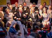 The Royal Belgian family attends the National Ball - Belgium