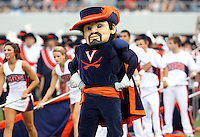 Sept. 3, 2011 - Charlottesville, Virginia - USA; The Virginia Cavaliers mascot during an NCAA football game against William & Mary at Scott Stadium. Virginia won 40-3. (Credit Image: © Andrew Shurtleff