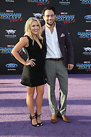 19 April 2017 - Hollywood, California - Emily Osment, Jonathan Sadowski. Premiere Of Disney And Marvel's &quot;Guardians Of The Galaxy Vol. 2&quot; held at Dolby Theatre. <br /> CAP/ADM/PMA<br /> &copy;PMA/ADM/Capital Pictures