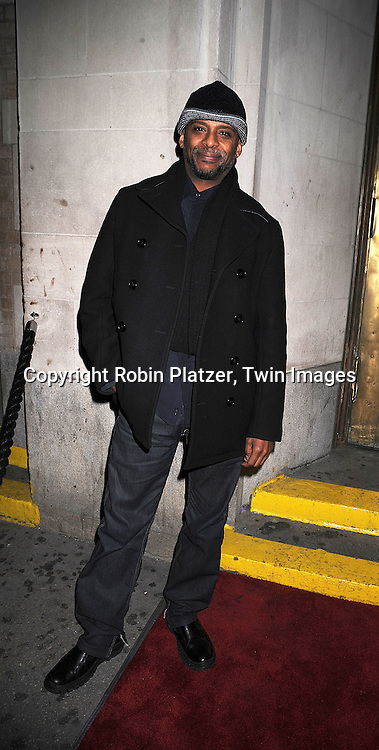 Darnell Williams at The All My Children Christmas Party on December 20, 2007 at Arena in New York City. ..Robin Platzer, Twin Images