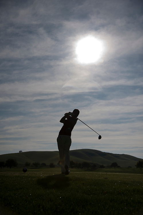 April 18, 2012; Hollister, CA, USA; Loyola Marymount Lions golfer Jake Sarnoff, Course & scenic shots during the WCC Golf Championships at San Juan Oaks Golf Club.