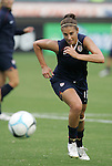 25 August 2007: Carli Lloyd. The United States Women's National Team defeated the Women's National Team of Finland 4-0 at the Home Depot Center in Carson, California in an International Friendly soccer match.