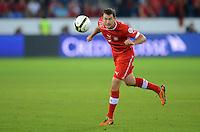 Fussball International  WM Qualifikation 2014   11.09.2012 Schweiz - Albanien Stephan LICHTSTEINER (Schweiz) am Ball