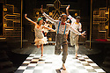 London, UK. 23.10.2014. A HARLEM DREAM choreographed by Ivan Blackstock, opens in the Maria, at the Young Vic. Picture shows: Kiel Ewen (front), Shannelle 'Tali' Fergus, Chaldon Williams, Rhea T-W, L'atisse Rhoden. Photograph © Jane Hobson.