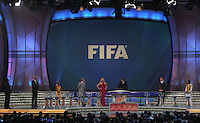 An overall view during the FIFA Final Draw for the FIFA World Cup 2010 South Africa held at the Cape Town International Convention Centre (CTICC) on December 4, 2009.