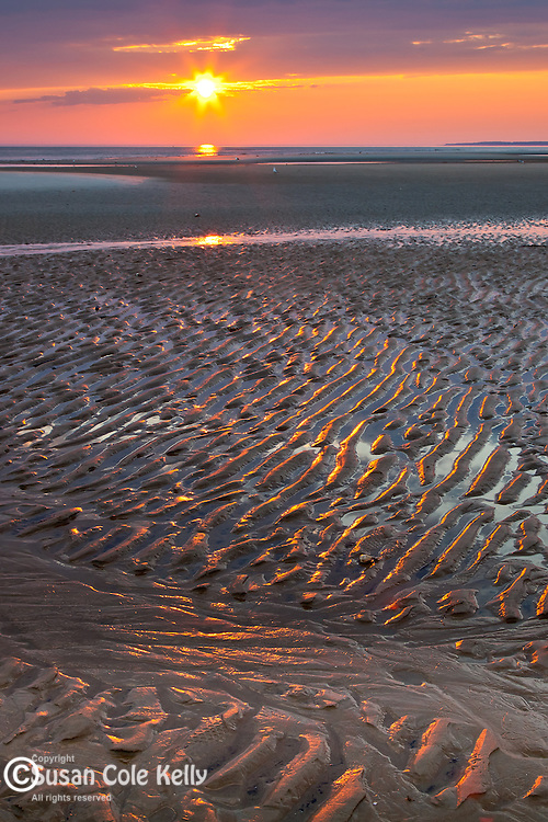Sunrise at Crane Beach, Ipswich, MA, USA