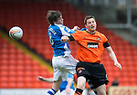 Dundee United v St Johnstone.....04.05.13      SPL.Murray Davidson and Jon Daly.Picture by Graeme Hart..Copyright Perthshire Picture Agency.Tel: 01738 623350  Mobile: 07990 594431
