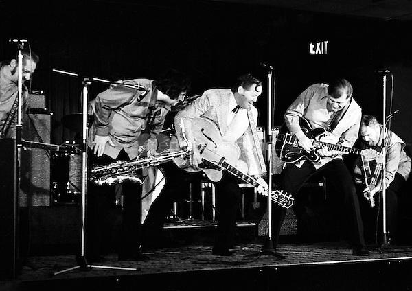 Bill Haley performing in 1973. Credit: Ian Dickson/MediaPunch