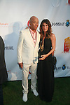 Russell Simmons and Jennifer Esposito Attend Russell Simmons' 12th Annual Art for Life East Hampton Benefit, NY  7/30/11