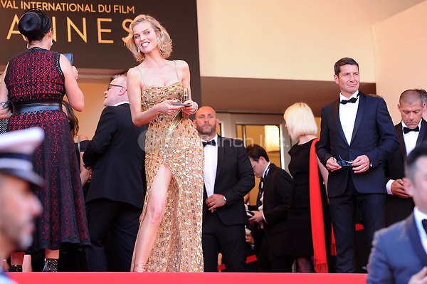 Eva Herzigova at the Opening Movie &acute;Les Fantomes d Ismael` screening during The 70th Annual Cannes Film Festival on May 17, 2017 in Cannes, France.<br /> CAP/LAF<br /> &copy;Lafitte/Capital Pictures /MediaPunch ***NORTH AND SOUTH AMERICAS, CANADA and MEXICO ONLY***