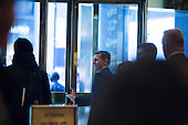 Retired United States Army lieutenant general, Mike Flynn leaves Trump Tower in Manhattan, New York, U.S., on Friday, November 18, 2016. <br /> Credit: John Taggart / Pool via CNP