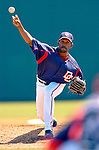 18 March 2006: Ramon Ortiz, pitcher for the Washington Nationals,on the mound during a Spring Training game against the New York Mets at Space Coast Stadium, in Viera, Florida. The Nationals defeated the Mets 10-2 in Grapefruit League play...Mandatory Photo Credit: Ed Wolfstein Photo..