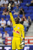 New York Red Bulls goalkeeper Bouna Coundoul (18). The New York Red Bulls defeated Chivas USA 1-0 during a Major League Soccer (MLS) match at Red Bull Arena in Harrison, NJ, on June 5, 2010.