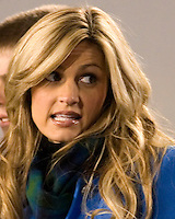 October 23, 2008: ESPN sideline reporter Erin Andrews. The West Virginia Mountaineers defeated the Auburn Tigers 34-17 on October 23, 2008 at Mountaineer Field, Morgantown, West Virginia.