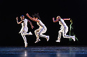 Alvin Ailey Dance theater present a programme of four UK premieres at Sadler's Wells as part of their tour with Dance Consortium this Autumn. This piece is: Exodus, choreographed by Rennie Harris. The dancers in this piece are: Yannick Lebrun, Renaldo Maurice, Daniel Harder, Michael Jackson Jr, Hope Boykin, Glenn Allen Sims, Linda Celeste Sims, Jamar Roberts, Jeroboam Bozeman, Belen Pereyra, Vernard J Gilmore, Matthew Rushing, Sarah Daley, Akua Noni Parker, Jacqueline Green, Ghrai Devore.