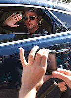 17/08/11 World war Z - Brad Pitt in Glasgow