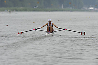 Amsterdam, NETHERLAND, CAN BLW 1X, . 2011 FISA U23 World Rowing Championships, Thursday, 21/07/2011 [Mandatory credit:  Intersport Images].
