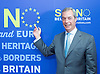 Nigel Farage <br /> leader of the UKIP party <br /> Westminster, London, Great Britain <br /> 30th July 2015 <br /> <br /> UKIP Leader Nigel Farage  giving a major speech on how the No campaign can win.<br /> <br /> Photograph by Elliott Franks <br /> Image licensed to Elliott Franks Photography Services